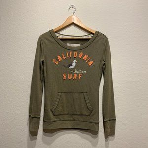 Hollister California Surf Seagull Sweatshirt